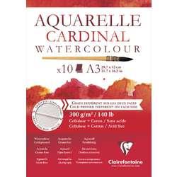 CLAIREFONTAINE Aquarellblock CARDINAL