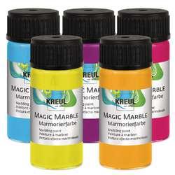 Peintures à marbrer Magic Marble KREUL