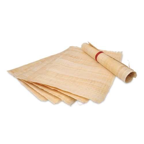 Papyrus véritable pour peinture, décoration ou bricolage