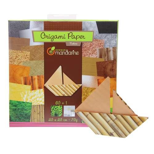 AVENUE MANDARINE sets de papier origami