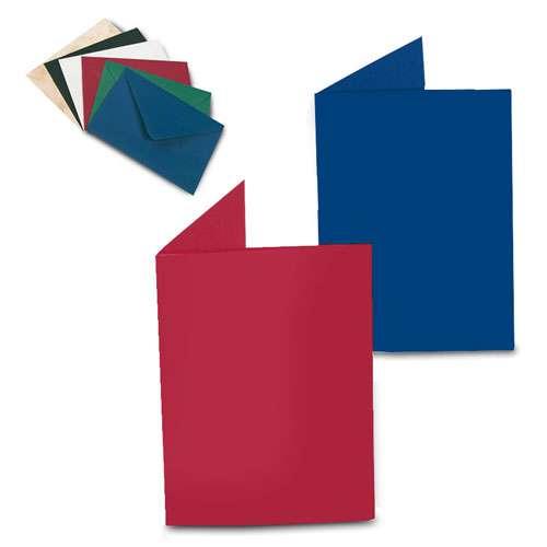 Lot de 6 enveloppes doublées - couleur unique