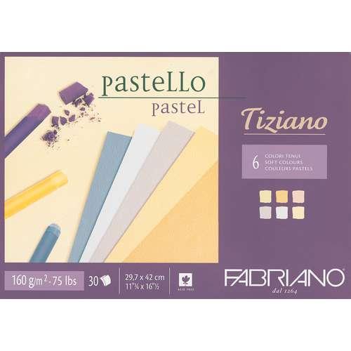 Papier d´artiste pour pastels Tiziano FABRIANO®