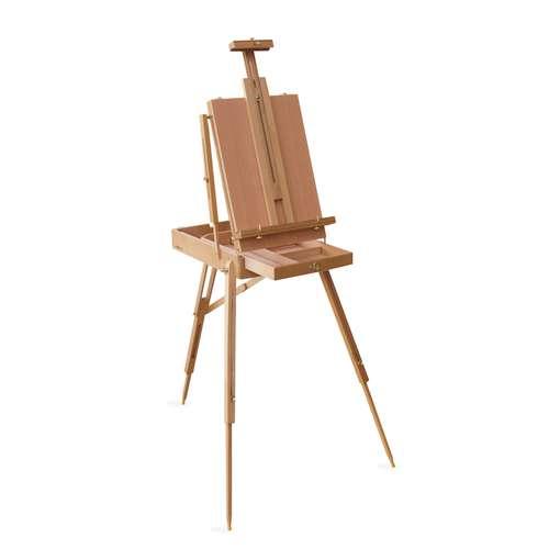 Chevalet coffret en bois I LOVE ART
