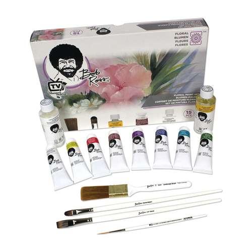 BOB ROSS® set de peinture Fleurs