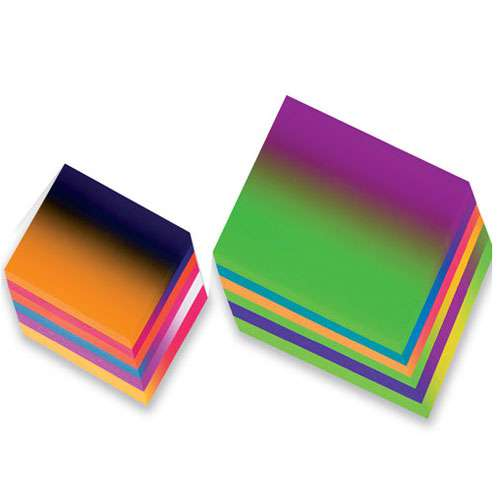 Regenbogen-Buntpapier Faltblätter