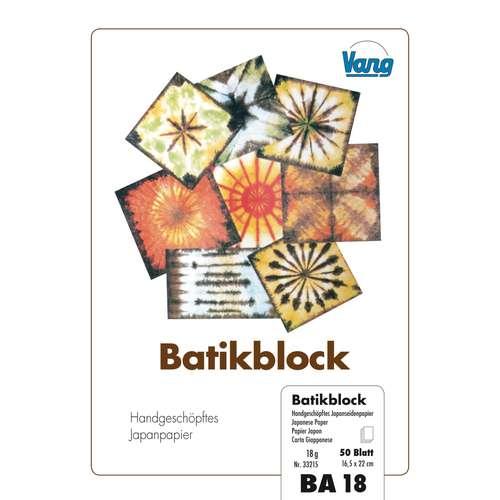 VANG Batikblock