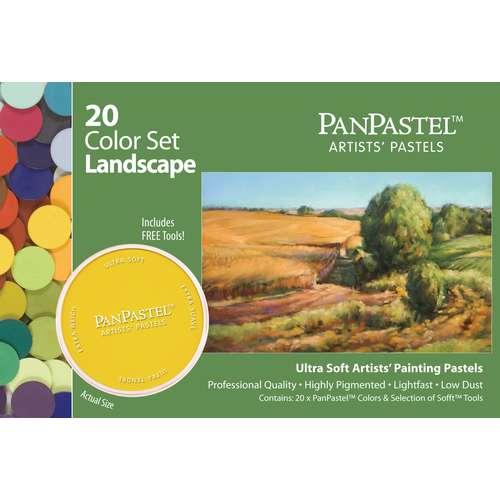 PANPASTEL® Ultra Soft Künstlerpastelle 20er-Sets