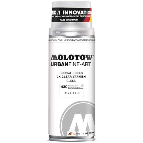 URBAN FINE-ART™ MOLOTOW™, vernis bicomposant aérosol
