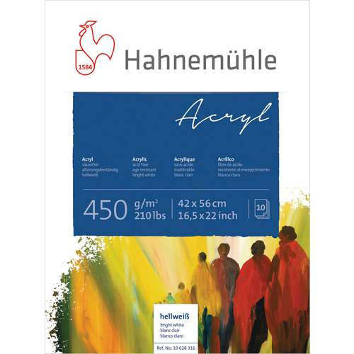 Papier acrylique HAHNEMÜHLE 450 g/m²