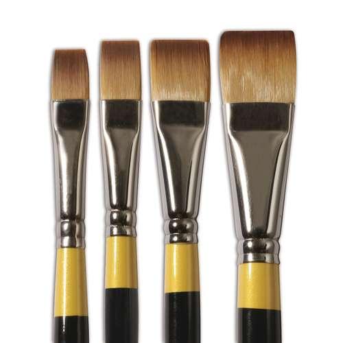Pinceaux acrylique System 3 Daley-Rowney, série SY55