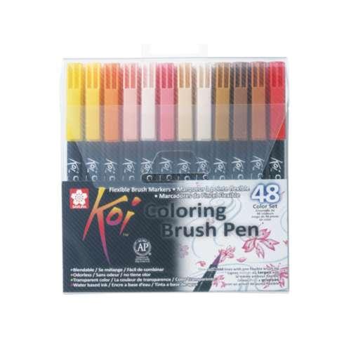 SAKURA® Koi Coloring Brush Pen-Set