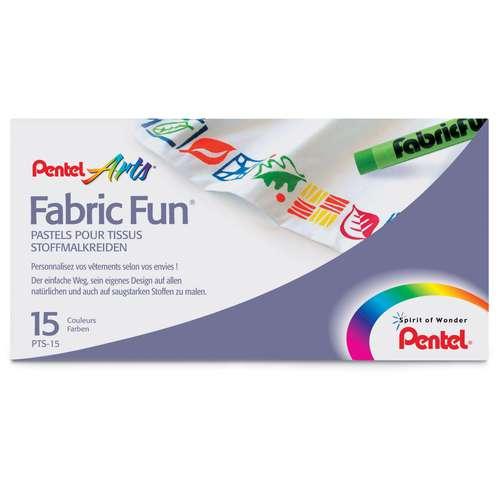 PENTEL Arts® Fabric Fun® Stoffmalkreide Set