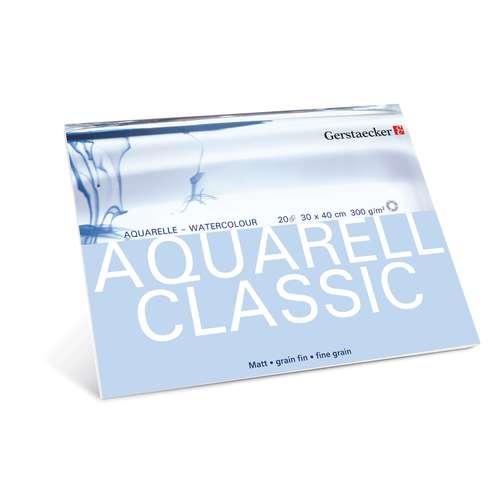 GERSTAECKER AQUARELL CLASSIC Aquarellblock