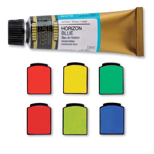 MIJELLO MISSION Gold Aquarellfarbe