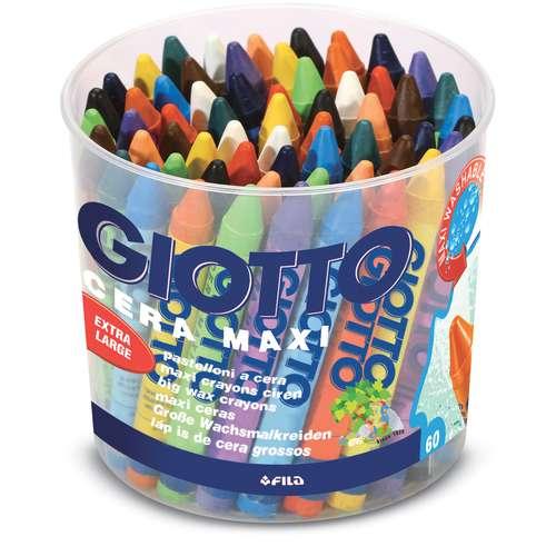 Coffret de crayons à la cire Cera Maxi Giotto