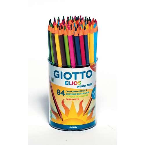 GIOTTO Elios Farbstift Wood-free, 84er Set