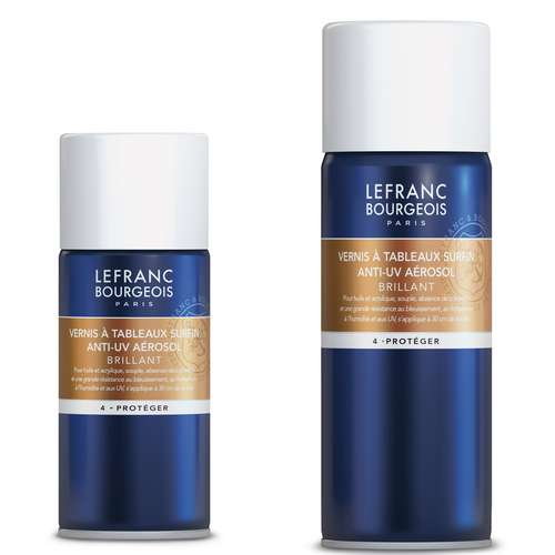 LEFRANC & BOURGEOIS Schlussfirnis-Spray, glänzend