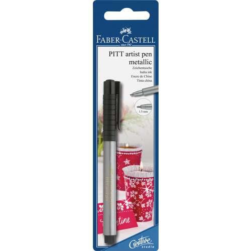 FABER-CASTELL Tuschestift PITT Artist Pen Metallic