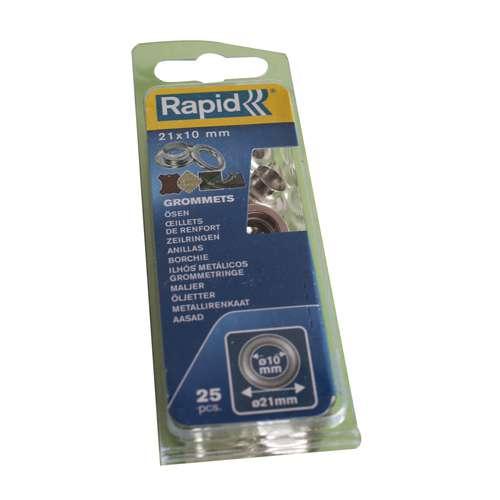RAPID® Ösen mit Ring inkl. Schlagwerkzeug