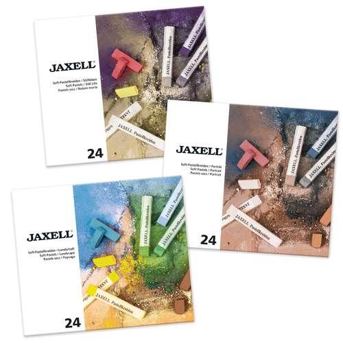 JAXELL® Soft Pastellkreiden Themensets