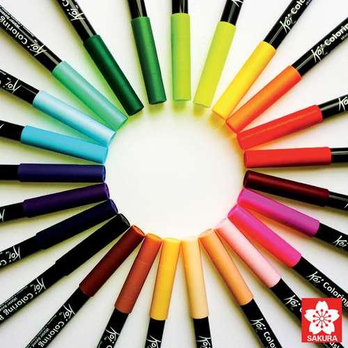 SAKURA® Koi Coloring Brush Pen