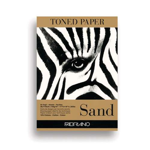 FABRIANO® Toned Paper Zeichenblock, Sand