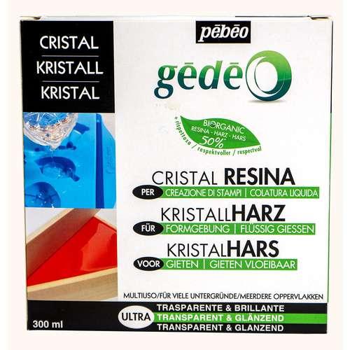 PÉBÉO Resin Harz-Set Kristall