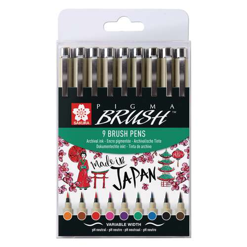 SAKURA PIGMA® Brush Set