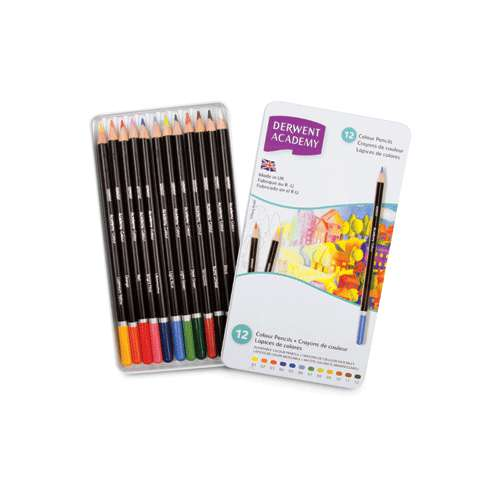 DERWENT Academy Colouring-Sets Künstler Farbstifte