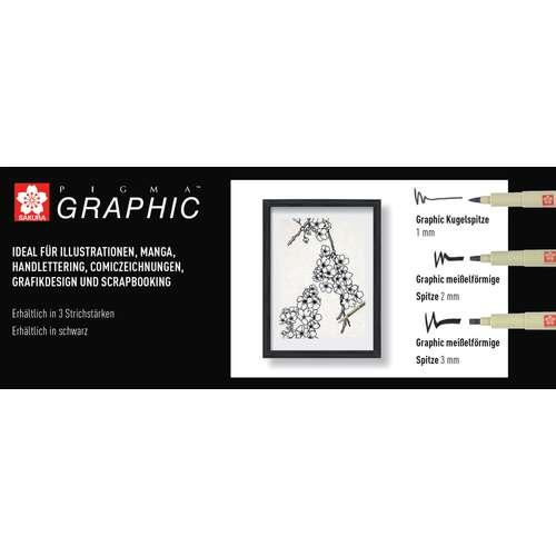SAKURA PIGMA® Graphic Pen