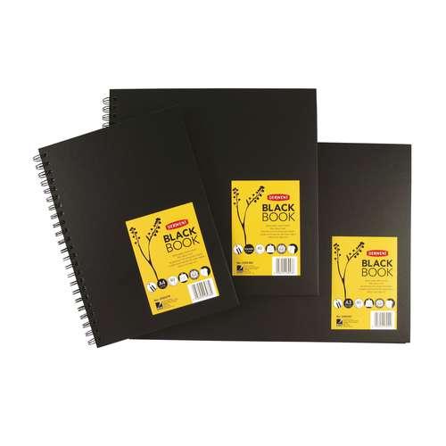DERWENT Skizzenbuch mit schwarzem Papier