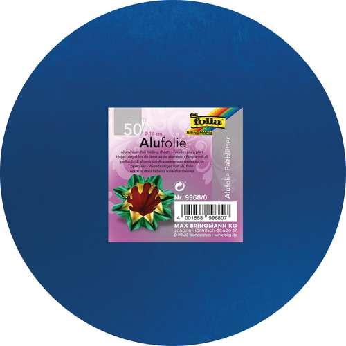 folia® Faltblätter aus Alufolie, 50 Blatt