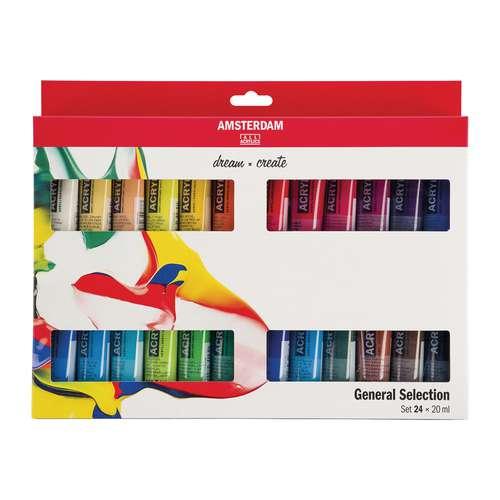AMSTERDAM Acrylfarbe Standard  Introsets